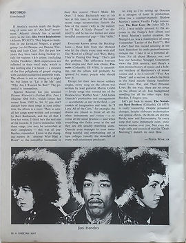 jimi hendrix magazine / cheetah may 1968