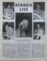 jimi hendrix magazine/hendrix live : beat instrumental 1968