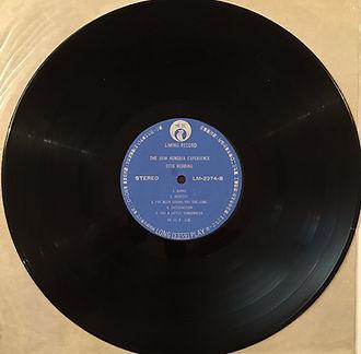 liming record/jimi hendrix collector vinyl lp album/side2 historic performances