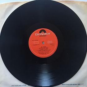 jimi hendrix vinyl album lp/isle of wight side B