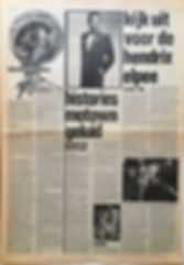 jimi hendrix newspaper/hit week 21/6/68 review smash hit