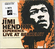jimi hendrix bootlegs cd / live at berkeley 2nd show