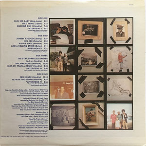 jimi hendrix vinyl album/jimi hendrix sound track from the film 1973 promo usa