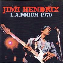 jimi hendrix bootlegs cds 1970 / la forum 1970