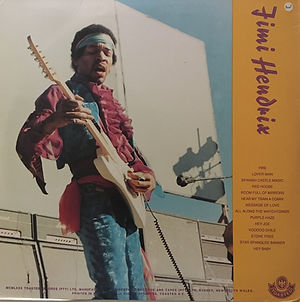 jimi hendrix bootlegs vinyls 1970 / jimi hendrix atlanta  2lp  1981