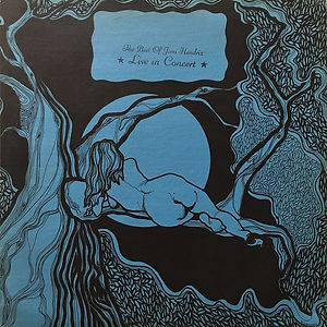 "jimi hendrix vinyls bootlegs 1970 /side 2 / best of live in concert ""live in concert"" N°22"