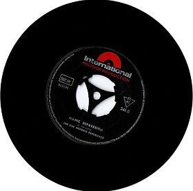 jimi hendrix collector vinyls singles/manic depression NMH 246 GREECE
