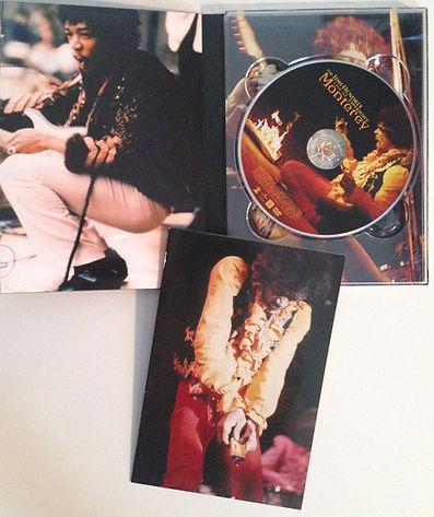 jimi hendrix rotily  dvd/monterey