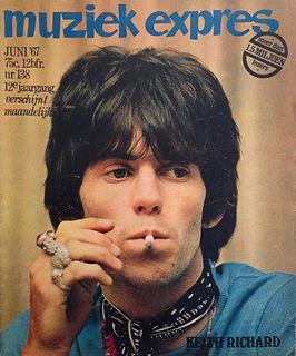 jimi hendrix rotily magazine collector/muziek expres  6/1967