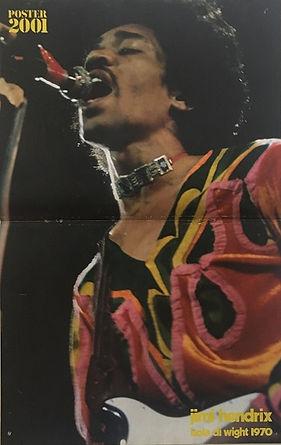jimi hendrix magazines 1970 /ciao 2001 poster / september 10, 1970
