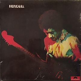 jimi hendrix collector vinyls LPs/band of gypsys bonus tracks/foxy lady/hear my train a coming/stop