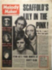 jimi hendrix newspaper 1968/melody maker december 14 1968
