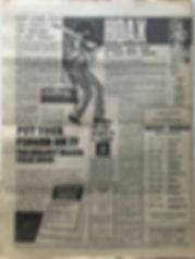 jimi hendrix newspaper/melody maker 20/1/68