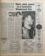 jimi hendrix newspaper 1970 /disc & music echo  march 28, 1970