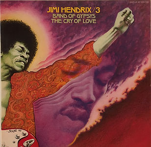 jimi hendrix collector vinyls LPs/albums/the cry of love france 1975 barclay
