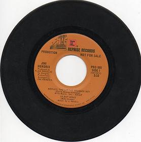 jimi hendrix single vinyls/the little drummer boy/silent night /promotion 1974