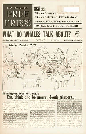 jimi hendrix newspapers 1969/los angeles free press:nov.28, 1969