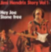 hendrix collector 45t singles vinyls/jimi hendrix stoey vol1/hey joe stone free 1973