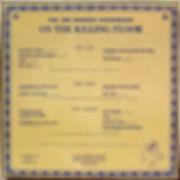 jimi hendrix bootlegs lps albums vinyls box/on the killing foor