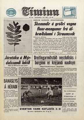jimi hendrix newspapers 1970 / timinn october 1,1970