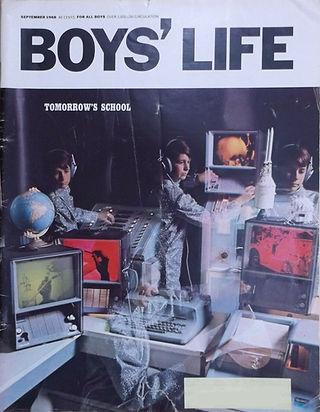 jimi hendrix magazine 1968 / boys' life