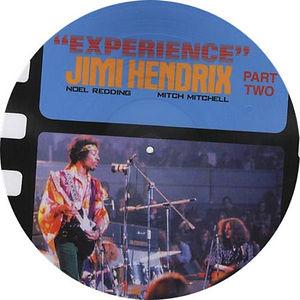 jimi hendrix vinyls 1969/ experience part two / italy
