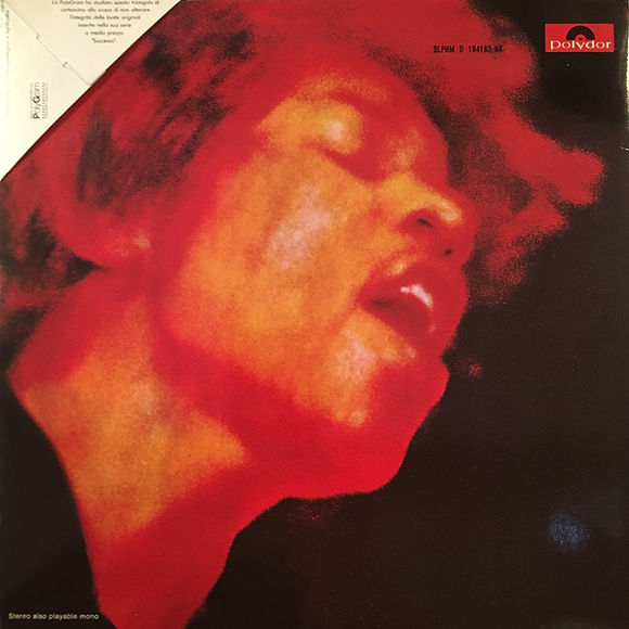 jimi hendrix collector vinyls/electric ladyland  1988