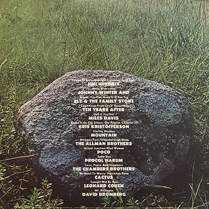 jimi hendrix album vinyl/isle of wight/atlanta pop festival  3lps