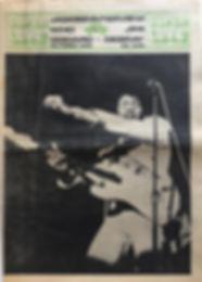 jimi hendrix 1968 newspaper/denmark/super love october 1968