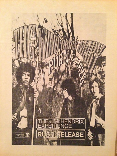 jimi hendrix newspapers 1967