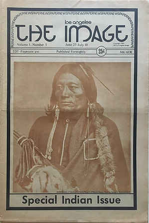 jimi hendrix newspaper 1969/los angeles the image june 27- july 10 1969 /newport pop festival 69