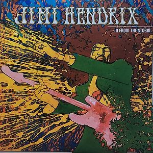 jimi hendrix bootlegs vinyls 1970 /  in from the storm 2lp