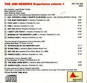 jimi hendrix collector cd bootlegs/the wild man of pop plays/vol1
