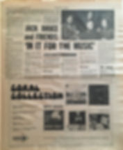 jimi hendrix newspaper 1970 / new musical express jan. 24 1970