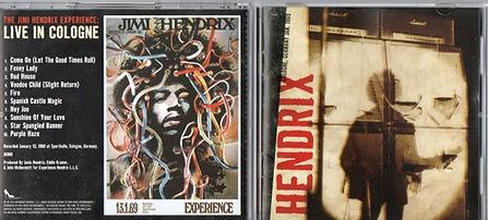 jimi hendrix bootleg cd /live in cologne