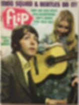 jimi hendrix magazine 1969/flip teen magazine