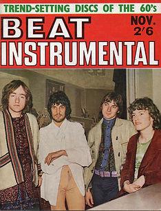 jimi hendrix collector magazine/beat instrumental november 1967