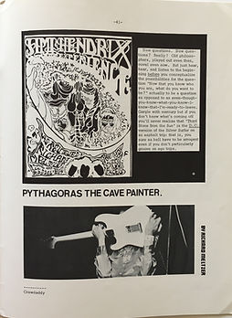 jimi hendrix collector magazine/crawdaddy october 1967