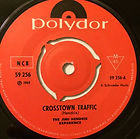 crosstown traffic singles vinyls 45t/collector/ crosstown traffic norway/scandinavia 1968