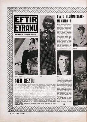 jimi hendrix magazines collector/ vikan december 12,1967