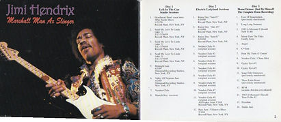 jimi hendrix cd box bootleg 1970 / box 3cd marshall man ax slinger