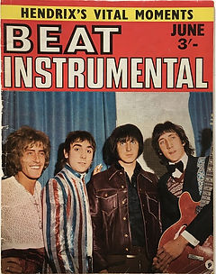 jimi hendrix magazine beat instrumental june 1968