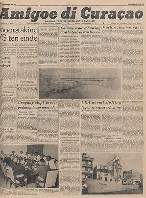 jimi hendrix newspapers 1967/amigoe di curaçao: july 18, 1967