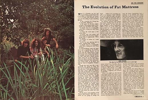 jimi hendrix magazines 1970 /circus  february, 1970 / of fat mattress