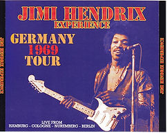 jimi hendrix bootleg cd 1969 / germany tour 1969