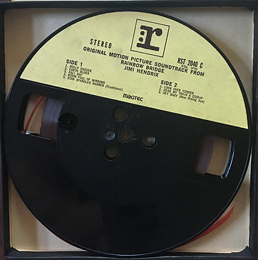 jimi hendrix reel to reel/rainbow bridge 1971