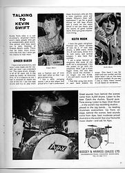 jimi hendrix rotily magazine/ beat instrumental may 67