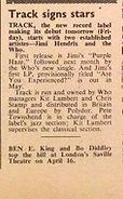 jimi hendrix collector rotily patrick track records