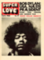 jimi hendrix newspaper 1968/superlove march 1968