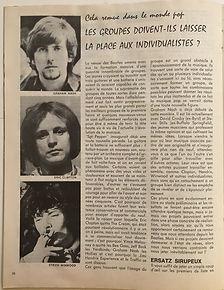 jimi hendrx magazine 1969/juke box february 1969 belgium